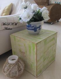 Cubo de papelão