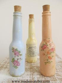 garrafas decoradas III