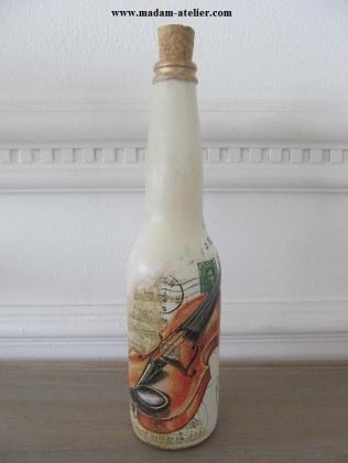 garrafas decoradas I