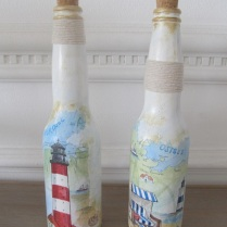 garrafas praia