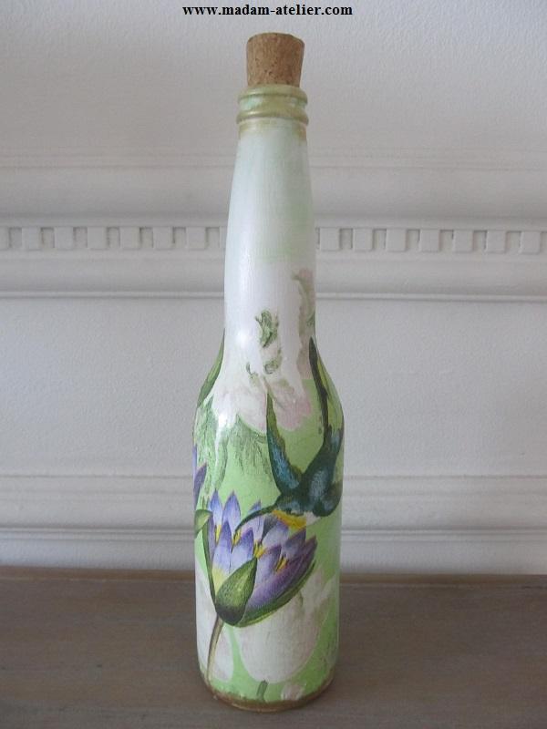 garrafas decoradas II