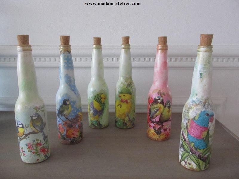 garrafas decoradas IV