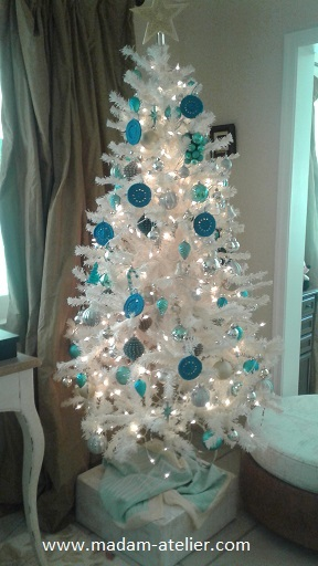 crochet ornamento natal