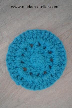 porta copo crochet