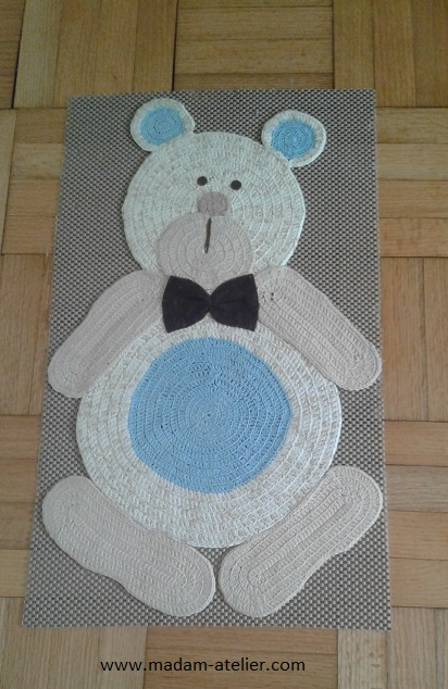tapetinho ursinho crochet 2